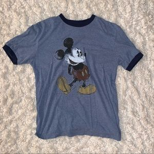 Vintage Mickey Mouse Ringer Tee